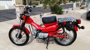 honda ct110 motorcycles for sale