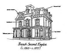 second empire house plans second empire style mansard roof decorative iron cresting on