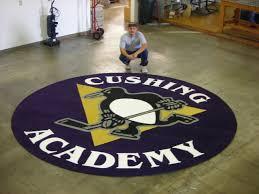 Big Rug Cushing Academy Yes It U0027s A Big Rug University And Logo