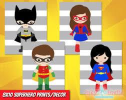 Superhero Home Decor Superhero Classroom Etsy