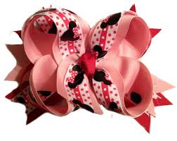 minnie mouse hair bow minnie mouse hair bow mickey mouse hair bow