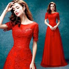 Red Wedding Dresses Long Red Lace Wedding Dresses Red Wedding Dress Red Prom Dress