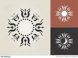sun moon vector symbol illustration 51502440 megapixl
