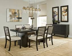lighting above kitchen table thick pedestals with a central