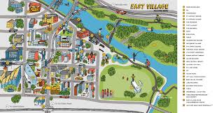 Map Of Canada Showing Calgary by Explore Calgary U0027s New Downtown U2014 East Village Experience