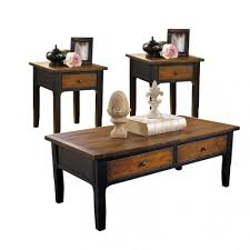 coffee and end table sets cheap l living room tables interior black