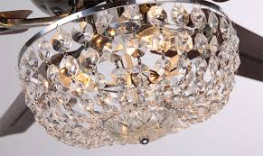Ceiling Fan Crystal by Modern Crystal Chandelier Light Kit For Ceiling Fan 1482732293 In