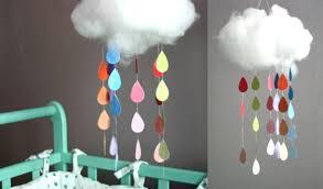 decorer chambre bébé soi meme déco chambre bébé a faire soi meme mobile nuages les tuto