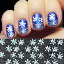 10pcs christmas snow flower designs transparent small snow flakes