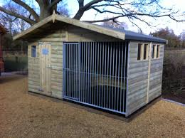 the chesterfield u2013 chalet dog kennel