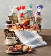 gift baskets for christmas christmas bakery gifts breakfast gift baskets wolferman s