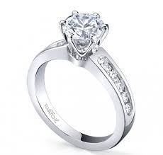 channel engagement ring designs by vatche classic 6 prong channel engagement ring