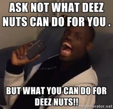 Deez Nuts Meme - deez nuts polling remarkably well as an independent presidential