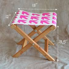 how to make a folding camp stool how about orange