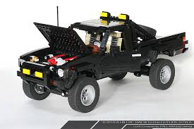 future toyota this back to the future lego toyota 4x4 is amazing