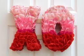 s day wreaths s day xo petal wreath hometalk