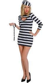 Prisoner Halloween Costume Women Cops Robbers Costumes Jokers Masquerade