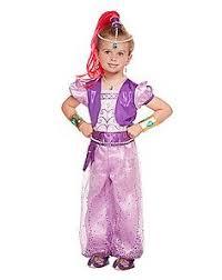 Genie Halloween Costume Halloween Magical Shimmer Shine Costumes