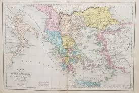 A Map Of Ancient Greece by Map Of Ancient Greece 1858