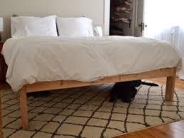 Diy Bed Frame Bedroom Diy Rustic Bed Frame Painted Wood Decor Table Lamps Diy