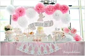 kara u0027s party ideas shabby chic bunny themed 1st birthday party