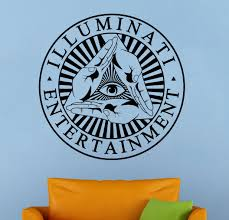wall decals stickers home decor home furniture diy illuminati sign wall decal all seeing eye vinyl sticker wall murals home decor 1