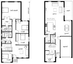 residential home floor plans sle of a house plan sle house floor plan 2 storey plans