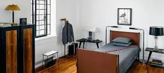 Fashion Designer Bedroom Inside Fashion Designer Thom Browne S Manhattan Mid Century Apartment