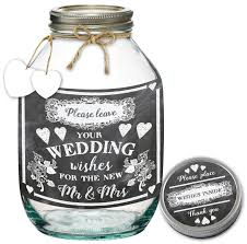 wedding wish jar wishes jar