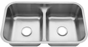 low divide stainless steel sink 32 double bowl undermount low divide kitchen sink 18 gauge