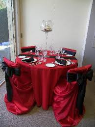 Red And Black Wedding Decorations For Red And Black Wedding The Wedding Specialiststhe