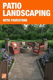 Backyard Brick Patio Design With Grill Station Seating Wall And by Paver Patio With Firepit And All Around Sitting Wall Backyard