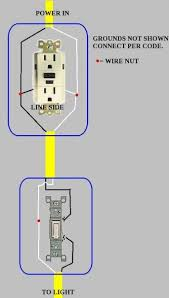 wiring advice switch outlet and overhead light doityourself com