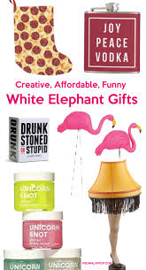 84 best creative u0026 affordable funny white elephant gift ideas