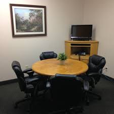 small conference room with video conferencing via avalon