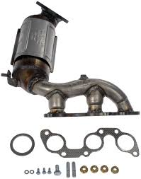 lexus rx330 parts lexus rx330 exhaust manifold with integrated catalytic converter