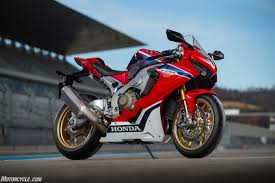 motorcycle com 2017 honda cbr1000rr and cbr1000rr sp review