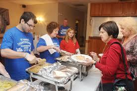 thanksgiving eagles taunton eagles club hosts thanksgiving feast for city u0027s less