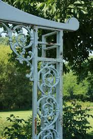 Metal Arbors Repurposing Architectural Details In The Garden Fine Gardening
