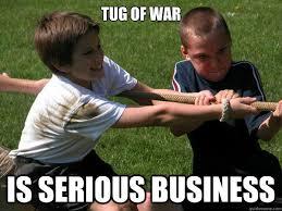 war meme tug of war is serious business picsmine
