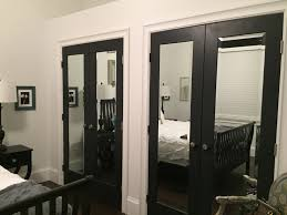 Closet Door Prices Bathroom Mirrored Closet Doors Bifold Wood Framed Mirrored