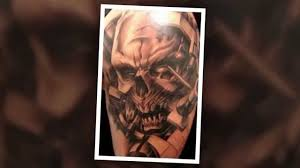skull arm sleeve scary skull sleeve tattoos design tattoo ideas design and