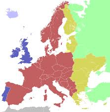 United States Time Zone Map by Central European Time Wikipedia