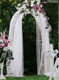 Wedding Arches Decorated With Burlap 45 Chic Rustic Burlap U0026 Lace Wedding Ideas And Inspiration