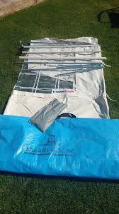 Omnistor Awning Parts Omnistor Awning 5000 U0026 5500 Safari Room Side Panels As New
