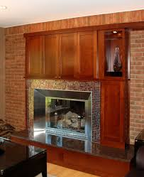 slate tiles fireplace fire place and pits