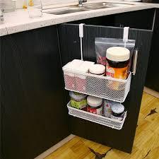 tiroirs de cuisine creative métal panier de rangement étagère pratique cuisine armoire