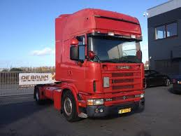 scania 164 580 manual retarder v8 tractor units for sale truck