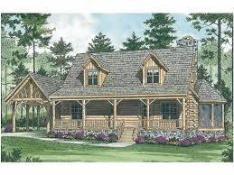 Mountain Cabin Floor Plans Eplans Log Houses House Plan Log Cabin Mountain Retreat 1762