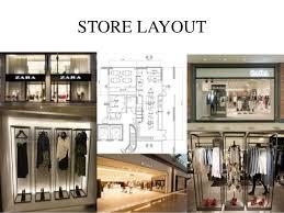 layout zara store study project on brand zara